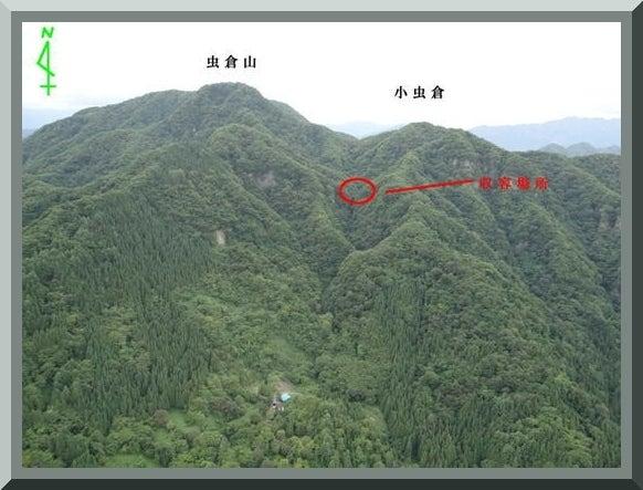 ロフトで綴る山と山スキー-収容地点