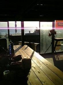 kokoroのブログ-カフェからの夕陽