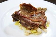 食べて飲んで観て読んだコト+レストラン・カザマ-鴨のコンフィ