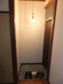 池袋の小さい不動産屋さん-大洋荘・前玄関