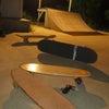 Skate ramp in the night!の画像