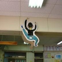 小学校でハンコの教室…
