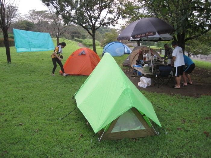 歩き人ふみの徒歩世界旅行 日本・台湾編-一緒にテント泊