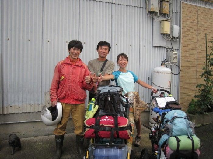 歩き人ふみの徒歩世界旅行 日本・台湾編-バンさんと