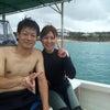 台風前、青の洞窟ダイビング!!の画像