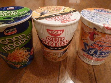 ☆Naomiの英語&日本語バイリンガルダイアリー☆-nissin cup noodles