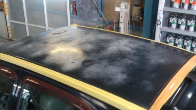 京都の女職人が書く車のブログ☆★-塗装 はげ