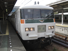 JR東海道本線湘南ライナー12号185系普通車|大塚良治の鉄道ブログ
