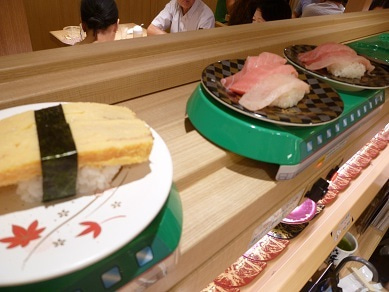 ☆Naomiの英語&日本語バイリンガルダイアリー☆-sushi train2