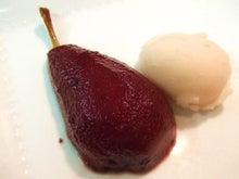 食べて飲んで観て読んだコト+レストラン・カザマ-洋梨のコンポート