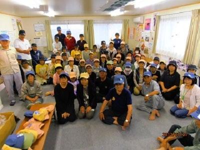 復興は岡田西町から!-広島から帽子
