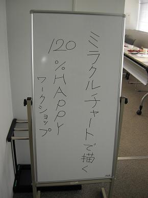 コーチング@東京 自分らしさを自分ブランドに-ミラクルチャートWS
