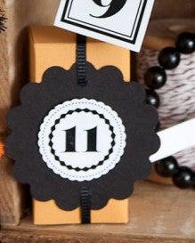 (11) ミニトリート(お菓子)ボックスの作り方