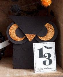 (13) ミニふくろうのお菓子ボックスの作り方
