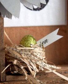 (10) ミニたまごと鳥の巣の作り方