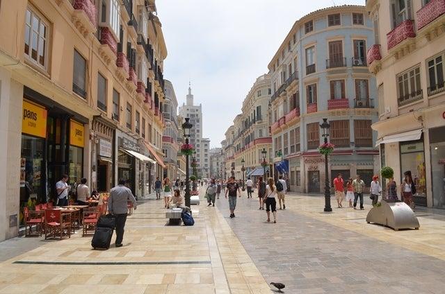 """ツイてる!社長の元氣がでるブログ ~""""宇宙と調和""""をめざして~-スペインの街並み"""