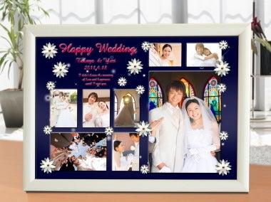 素敵な結婚式フォトフレーム Everlasting-A4