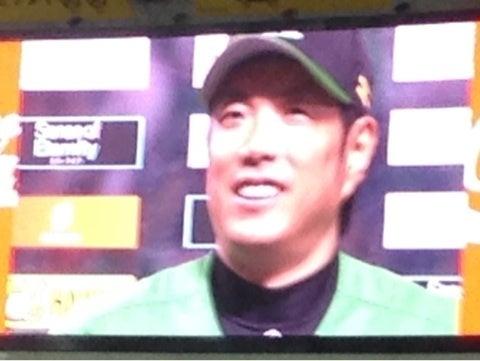ホークス・小久保裕紀選手、レギュラーシーズン最後のヤフー ...