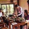 10月メニューの試食会の画像