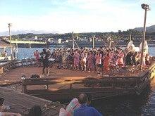 大分県日田市 『ひたよかとこ日記』-水上屋台祭