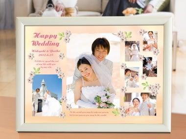 かわいい結婚式フォトフレーム
