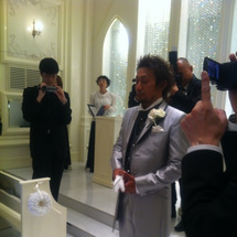 結婚式だZ!