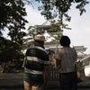岡崎城探検の画像