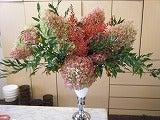 呼吸する様に花を仕入れ、取り合わせる。 花禅-1210171