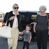 ケイト・ブランシェット 2012年10月 息子と空港での画像
