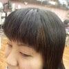 前髪の画像