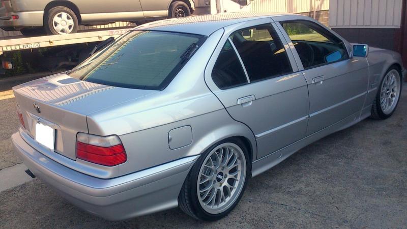 京都の女職人が書く車のブログ☆★-BMW 全塗装 見積り