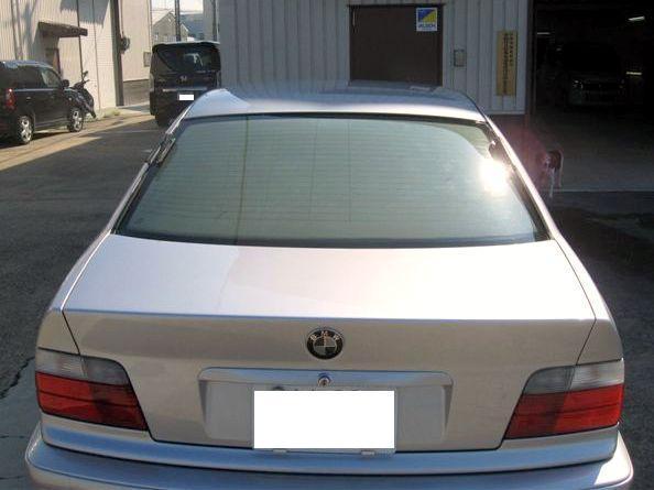 京都の女職人が書く車のブログ☆★-BMW トランク