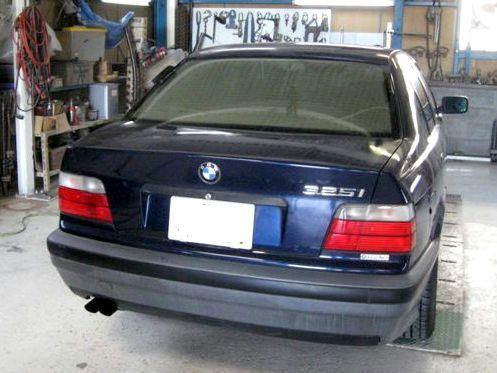 京都の女職人が書く車のブログ☆★-BMW 325