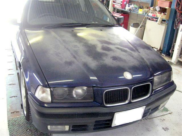 京都の女職人が書く車のブログ☆★-BMW ネイビー