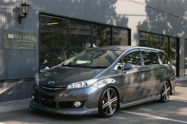 ウィッシュ 新車カスタム コンプリートカー納車!|エムズスピード大阪 ブログ