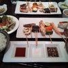 串焼きランチの画像
