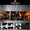 11/3『GOLD roppongi』 グランドオープニングパーティー開催!!の画像