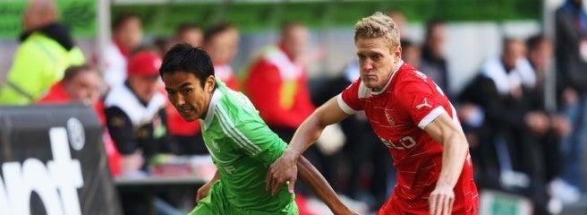 サッカー日本代表 長谷部誠 ヴォルフスブルク 今シーズン初出場 初アシスト