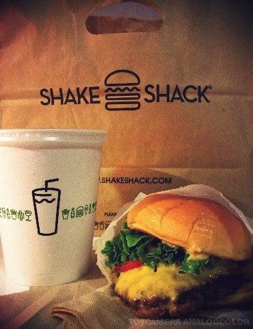 $すずきの通信-SHAKE SHACK バーガー