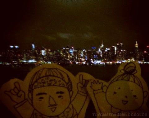 $すずきの通信-NY夜景 ニュージャージー側2