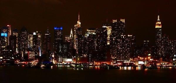 $すずきの通信-NY夜景 ニュージャージー側1