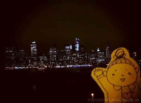 $すずきの通信-NY夜景 ブルックリン側2
