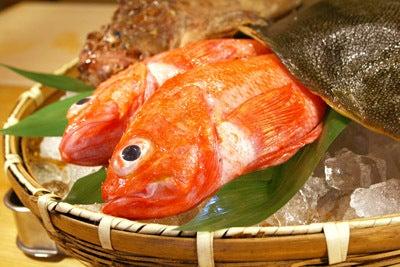 $北海道より直送の寿司。堺筋本町駅徒歩1分 おたる栄六すし 大阪<br />-釣りキンキ