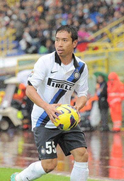 サッカー 日本代表 長友佑都