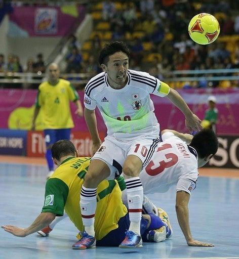 フットサルワールドカップ 日本代表 ブラジル戦