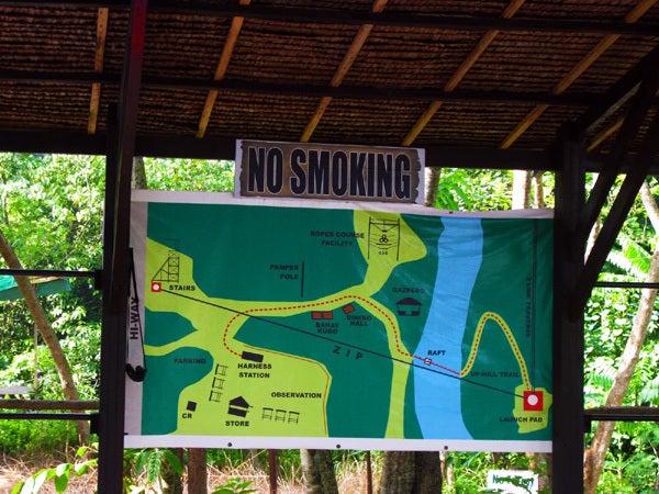 $Nomadshare フィリピン ダバオ ~世界中に帰る処を~-エクセラレイタージップラインの地図