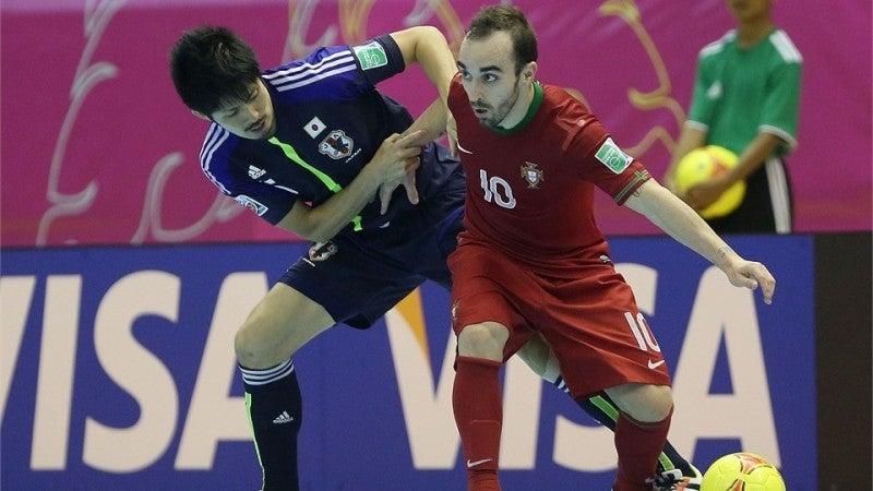 フットサルワールドカップ 日本代表 ポルトガル戦
