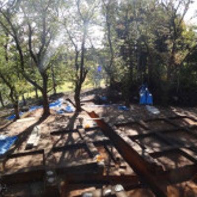 遺跡の発掘現場の記事に添付されている画像