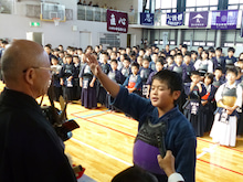 小田原剣道連盟blog-選手宣誓(豊川剣友会・平沢匠選手)