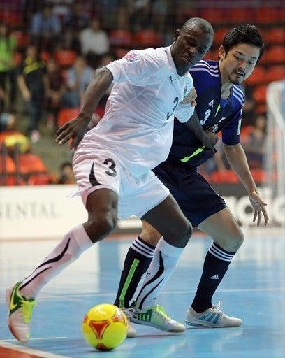フットサルワールドカップ 日本代表 リビア戦